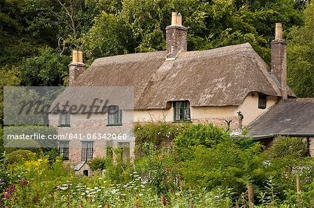 Thomas Hardy's cottage, Higher Bockhampton, near Dorchester, Dorset, England, United Kingdom, Europe Stock Photo - Rights-Managed, Image code: 841-06342060