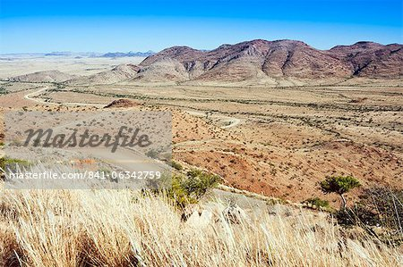 View of the area close to road C 26, Khomas Region, Namibia, Africa Stock Photo - Rights-Managed, Image code: 841-06342759
