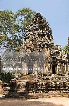Thommanom, Angkor Archaeological Park, UNESCO World Heritage Site, Siem Reap, Cambodia, Indochina, Southeast Asia, Asia
