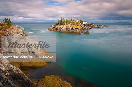 East Quoddy (Head Harbour) Lighthouse, Campobello Island, New Brunswick, Canada, North America Stock Photo - Rights-Managed, Image code: 841-06344232