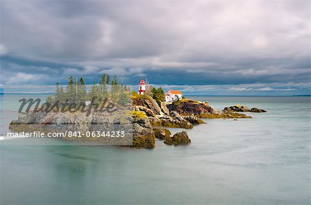 East Quoddy (Head Harbour) Lighthouse, Campobello Island, New Brunswick, Canada, North America Stock Photo - Rights-Managed, Image code: 841-06344233