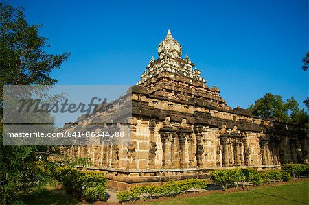 Vaikunta Perumal temple, Kanchipuram, Tamil Nadu, India, Asia Stock Photo - Rights-Managed, Image code: 841-06344588