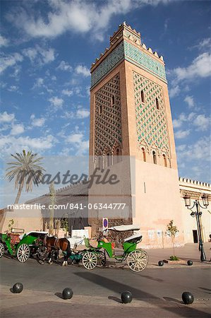 D'El Mansour Mosque, Marrakesh, Morocco, North Africa, Africa Stock Photo - Rights-Managed, Image code: 841-06344777