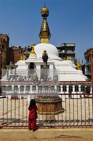 Stupa at Patan, UNESCO World Heritage Site, Bagmati, Central Region (Madhyamanchal), Nepal, Asia Stock Photo - Rights-Managed, Image code: 841-06446543