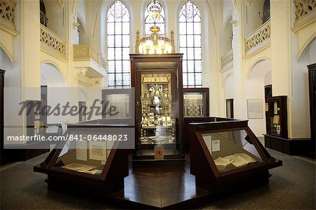 The Maisel Synagogue is currently used by the Jewish Museum as an exhibition venue and depository, Prague, Czech Republic, Europe Stock Photo - Rights-Managed, Image code: 841-06448023