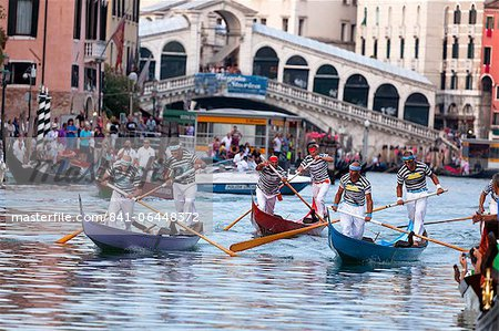 Regata Storica 2012, Venice, Veneto, Italy, Europe Stock Photo - Rights-Managed, Image code: 841-06448372