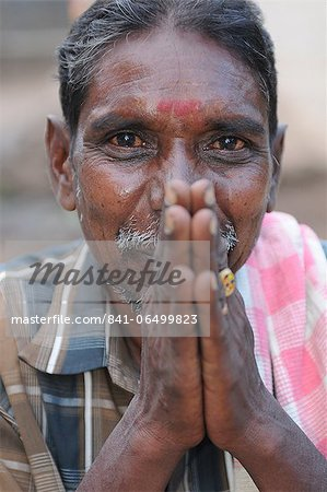 Soliga tribal portrait, Karnataka, India, Asia Stock Photo - Rights-Managed, Image code: 841-06499823
