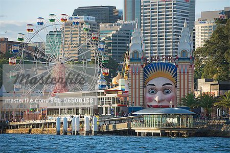 Luna Park, Sydney, New South Wales, Australia, Pacific Stock Photo - Rights-Managed, Image code: 841-06500138