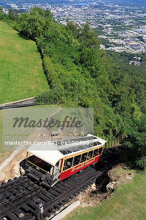 Incline Railway on Lookout Mountain, Chattanooga, Tennessee, United States of America, North America Stock Photo - Rights-Managed, Image code: 841-06500898