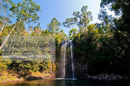 Millaa Millaa Falls, Atherton Tablelands, Queensland, Australia, Pacific Stock Photo - Rights-Managed, Image code: 841-06502257
