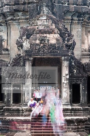 Temple Complex of Angkor Wat, Angkor, UNESCO World Heritage Site, Siem Reap, Cambodia, Indochina, Southeast Asia, Asia Stock Photo - Rights-Managed, Image code: 841-06503425