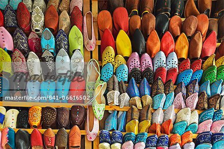 Display of merchandise, Essaouira, Morocco, North Africa, Africa Stock Photo - Rights-Managed, Image code: 841-06616502