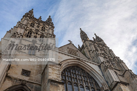 Canterbury Cathedral, UNESCO World Heritage Site, Canterbury, Kent, England, United Kingdom, Europe Stock Photo - Rights-Managed, Image code: 841-06804375