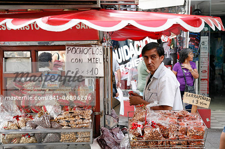 Street food stall selling peanuts, Salta City, Argentina, South America Stock Photo - Rights-Managed, Image code: 841-06806206
