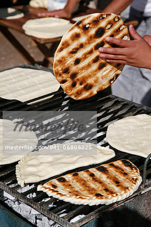 Torta Asada bread, Humahuaca, Quebrada de Humahuaca, Jujuy Province, Argentina, South America Stock Photo - Rights-Managed, Image code: 841-06806225