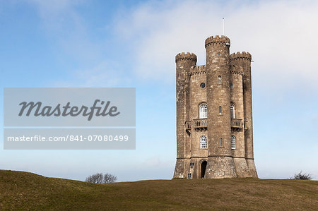 Broadway Tower, Broadway Tower and Country Park, Worcestershire, England, United Kingdom, Europe Stock Photo - Rights-Managed, Image code: 841-07080499