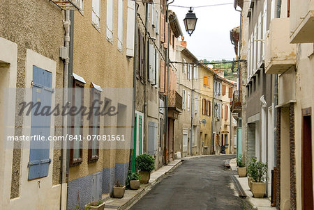 Old town of Quillan, Languedoc, France, Europe