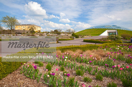 National Botanic Garden of Wales, Llanarthne, Carmarthenshire, Wales, United Kingdom, Europe Stock Photo - Rights-Managed, Image code: 841-07081959