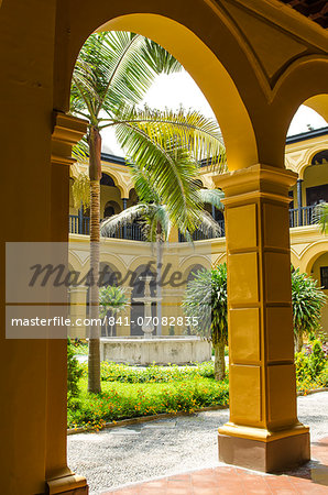 Courtyard of the Convent of Santo Domingo, Lima, Peru, South America Stock Photo - Rights-Managed, Image code: 841-07082835