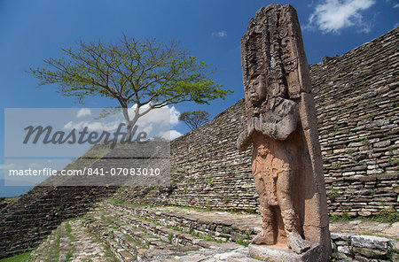 Tonina Archaeological Zone, Chiapas, Mexico, North America Stock Photo - Rights-Managed, Image code: 841-07083010
