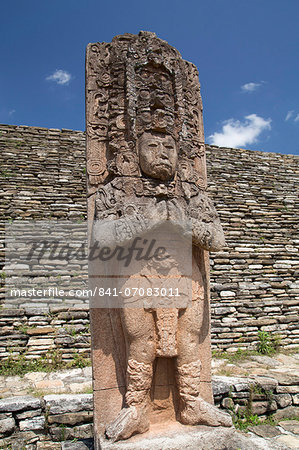 Tonina Archaeological Zone, Chiapas, Mexico, North America Stock Photo - Rights-Managed, Image code: 841-07083011