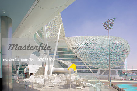 Viceroy Hotel, Yas Island, Abu Dhabi, United Arab Emirates, Middle East Stock Photo - Rights-Managed, Image code: 841-07083922