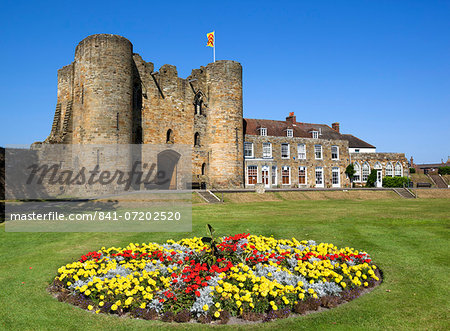 Tonbridge Castle, Tonbridge, Kent, England, United Kingdom, Europe Stock Photo - Rights-Managed, Image code: 841-07202520