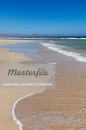 Beach of Risco del Paso, Fuerteventura, Canary Islands, Spain, Atlantic, Europe Stock Photo - Rights-Managed, Image code: 841-07204696