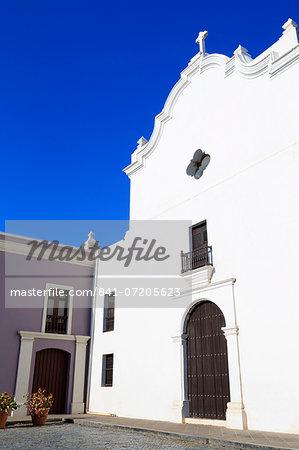San Jose Church in Old San Juan, Puerto Rico, West Indies, Caribbean, Central America