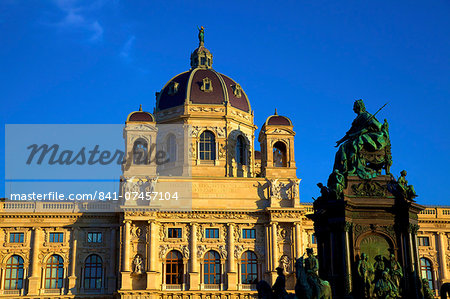 Museum of Art History, Vienna, Austria, Europe Stock Photo - Rights-Managed, Image code: 841-07457104
