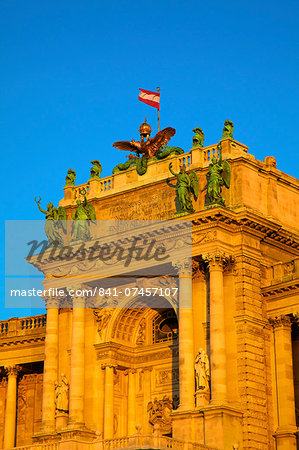 Hofburg Palace exterior, UNESCO World Heritage Site, Vienna, Austria, Europe Stock Photo - Rights-Managed, Image code: 841-07457107