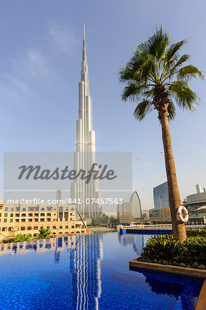 Burj Khalifa, Dubai, United Arab Emirates, Middle East Stock Photo - Rights-Managed, Image code: 841-07457563
