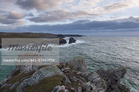 A September evening on the cliffs at Mangersta, Isle of Lewis, Outer Hebrides, Scotland, United Kingdom, Europe Stock Photo - Rights-Managed, Image code: 841-07457774