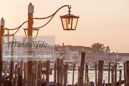 Riva degli Schiavoni, Venice, UNESCO World Heritage Site, Veneto, Italy, Europe Stock Photo - Rights-Managed, Image code: 841-07523860