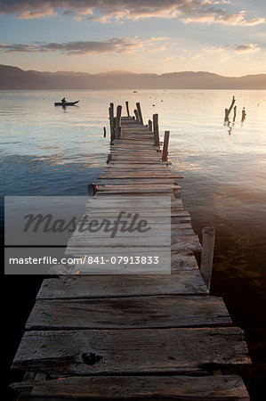 Lago Atitlan, Guatemala, Central America Stock Photo - Rights-Managed, Image code: 841-07913833