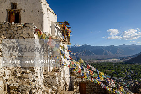The dramatically perched Namgyal Tsemo Monastery in Leh, Ladakh, Himalayas, India, Asia Stock Photo - Rights-Managed, Image code: 841-07913972