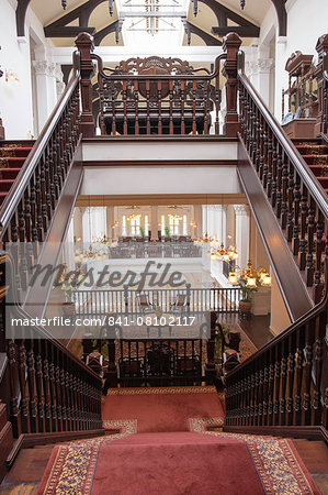 Interior of Raffles Hotel, Singapore, Southeast Asia, Asia Stock Photo - Rights-Managed, Image code: 841-08102117