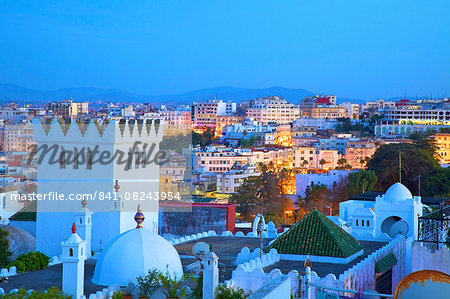 View over Kasbah to Tangier, Tangier, Morocco, North Africa, Africa Stock Photo - Rights-Managed, Image code: 841-08243954