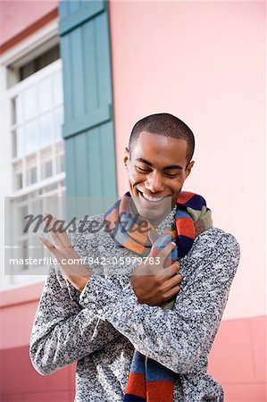 Handsome stylish young African-American man Stock Photo - Rights-Managed, Image code: 842-05979783