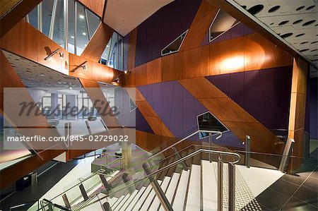 University of New South Wales, Faculty of Law, Sydney, Australia.  Architect: Lyons. Stock Photo - Rights-Managed, Image code: 845-02729022