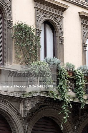 Architectural details, Milan. Stock Photo - Rights-Managed, Image code: 845-04826798