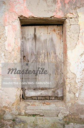 Doors - Old wooden door, Procida, Italy Stock Photo - Rights-Managed, Image code: 845-04826941