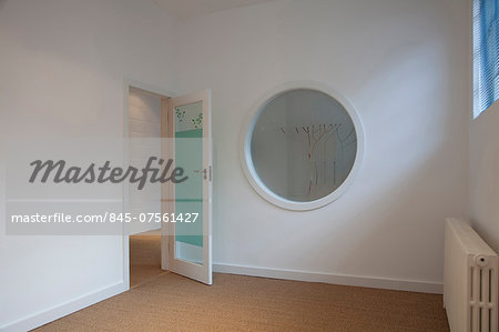 Interior of commercial office space, The Factory, Acre Road. Stock Photo - Rights-Managed, Image code: 845-07561427