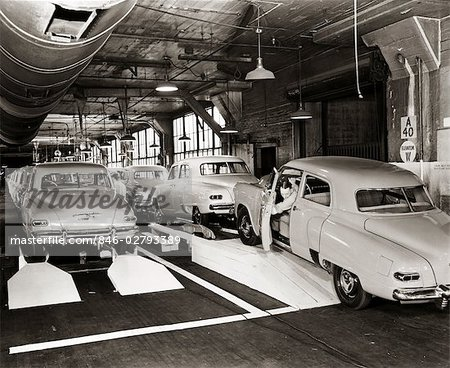 1950s STUDEBAKER PRODUCTION LINE Stock Photo - Rights-Managed, Image code: 846-02793389