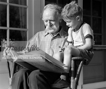 Dave and Rob Razzing - Page 29 846-02793772em-1940s-GRANDFATHER-ON-PORCH-READING-TO-GRANDSON---