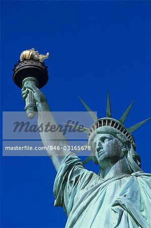 STATUE OF LIBERTY NEW YORK, NY Stock Photo - Rights-Managed, Image code: 846-03165678