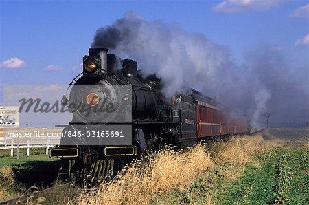 STRASBURG STEAM RAILROAD LANCASTER COUNTY, PENNSYLVANIA Stock Photo - Rights-Managed, Image code: 846-03165691