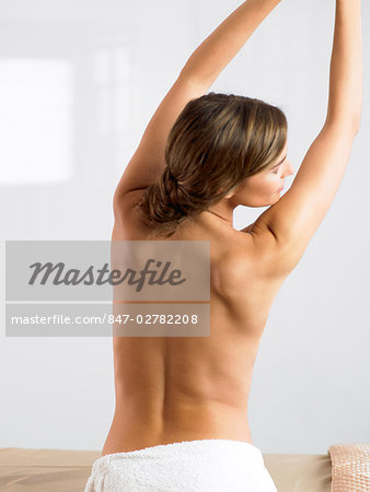 Naked back of beautiful woman Stock Photo - Rights-Managed, Image code: 847-02782208