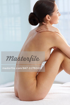 Back of beautiful naked woman Stock Photo - Rights-Managed, Image code: 847-02782418