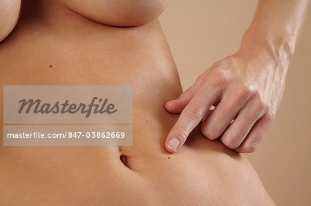 Close up of beautiful stomach Stock Photo - Rights-Managed, Image code: 847-03862669